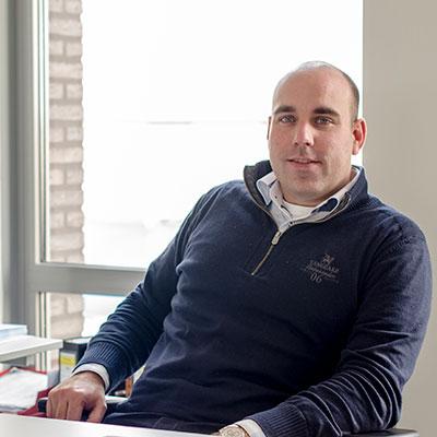 Paul Laurensse, bedrijfsleider Utiliteit Schrijvers Technische Installaties